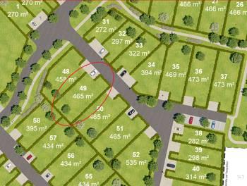 Terrain 465 m2