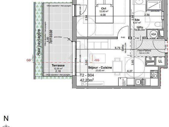 Vente appartement 3 pièces 65,81 m2