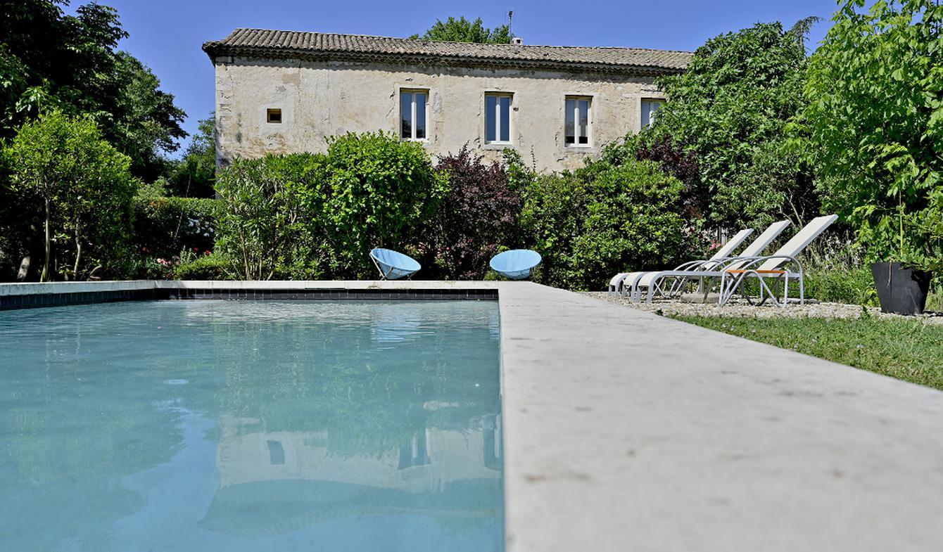 House with pool Lirac