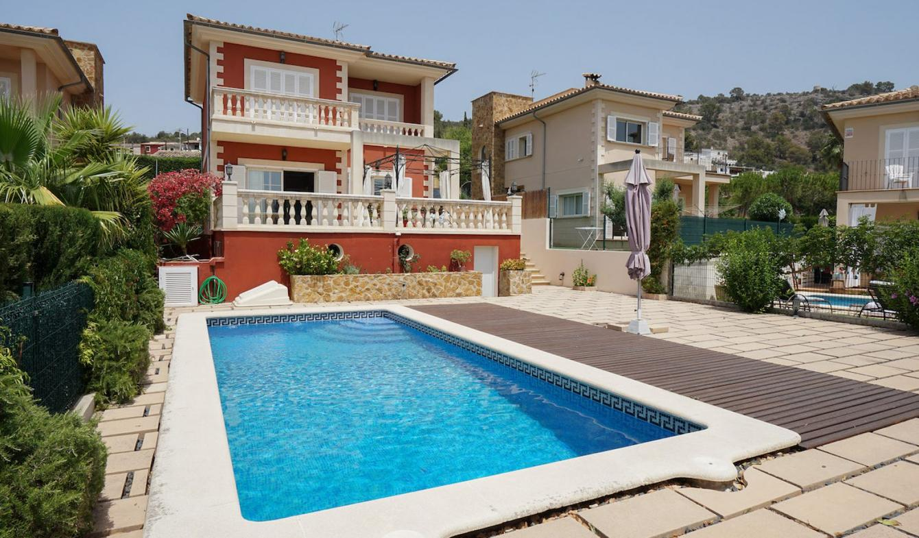 Villa avec piscine et jardin Calvià