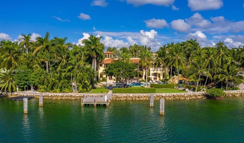 Villa avec piscine en bord de mer Miami Beach
