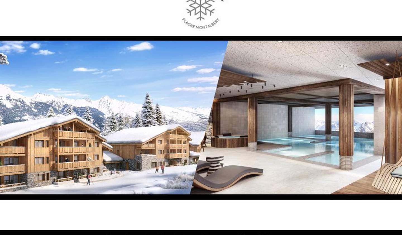 Appartement avec terrasse et piscine La Plagne