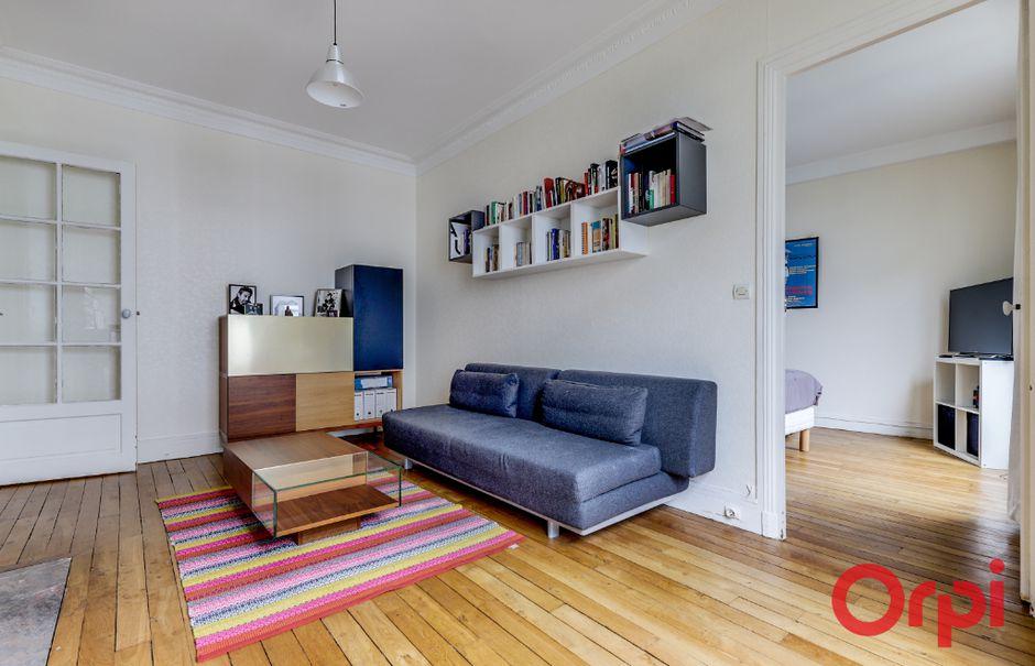 Vente appartement 2 pièces 39.5 m² à Paris 20ème (75020), 365 000 €