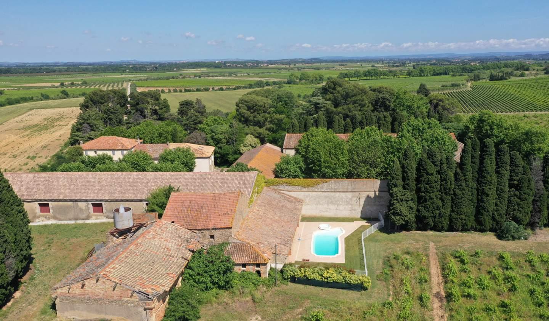 Propriété avec piscine Narbonne