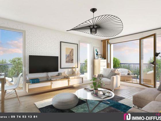 Vente appartement 3 pièces 67 m2