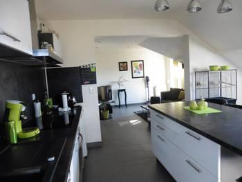 Appartement 3 pièces 57,38 m2