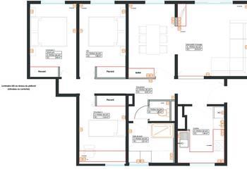 Appartement meublé 5 pièces 79 m2