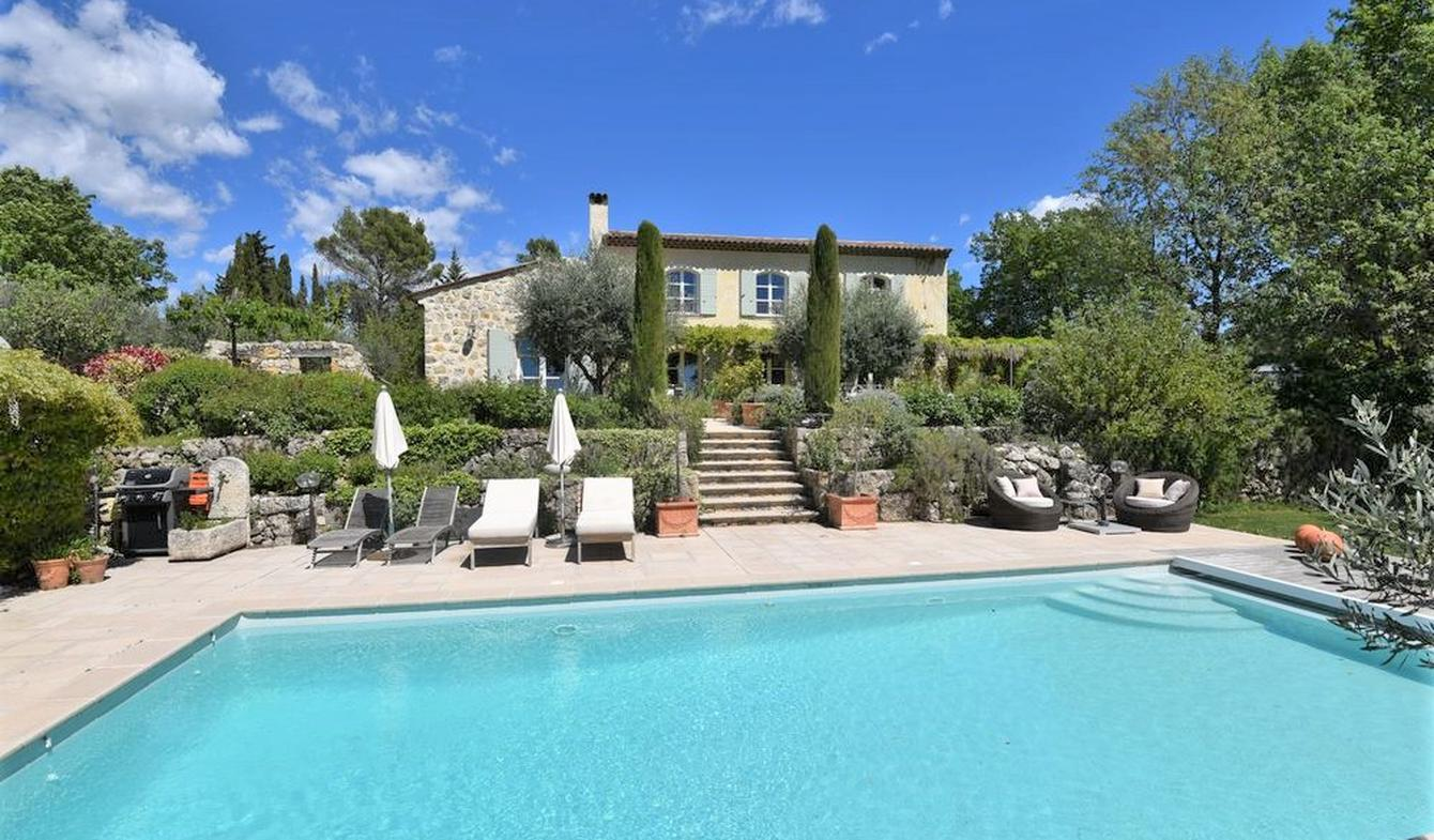 House with pool and terrace Fayence