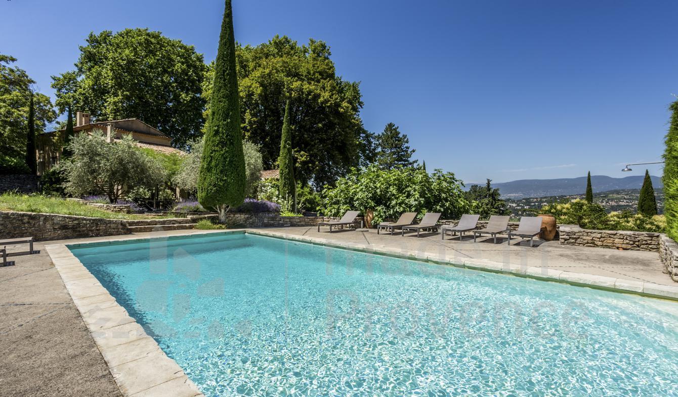 Maison avec piscine Apt