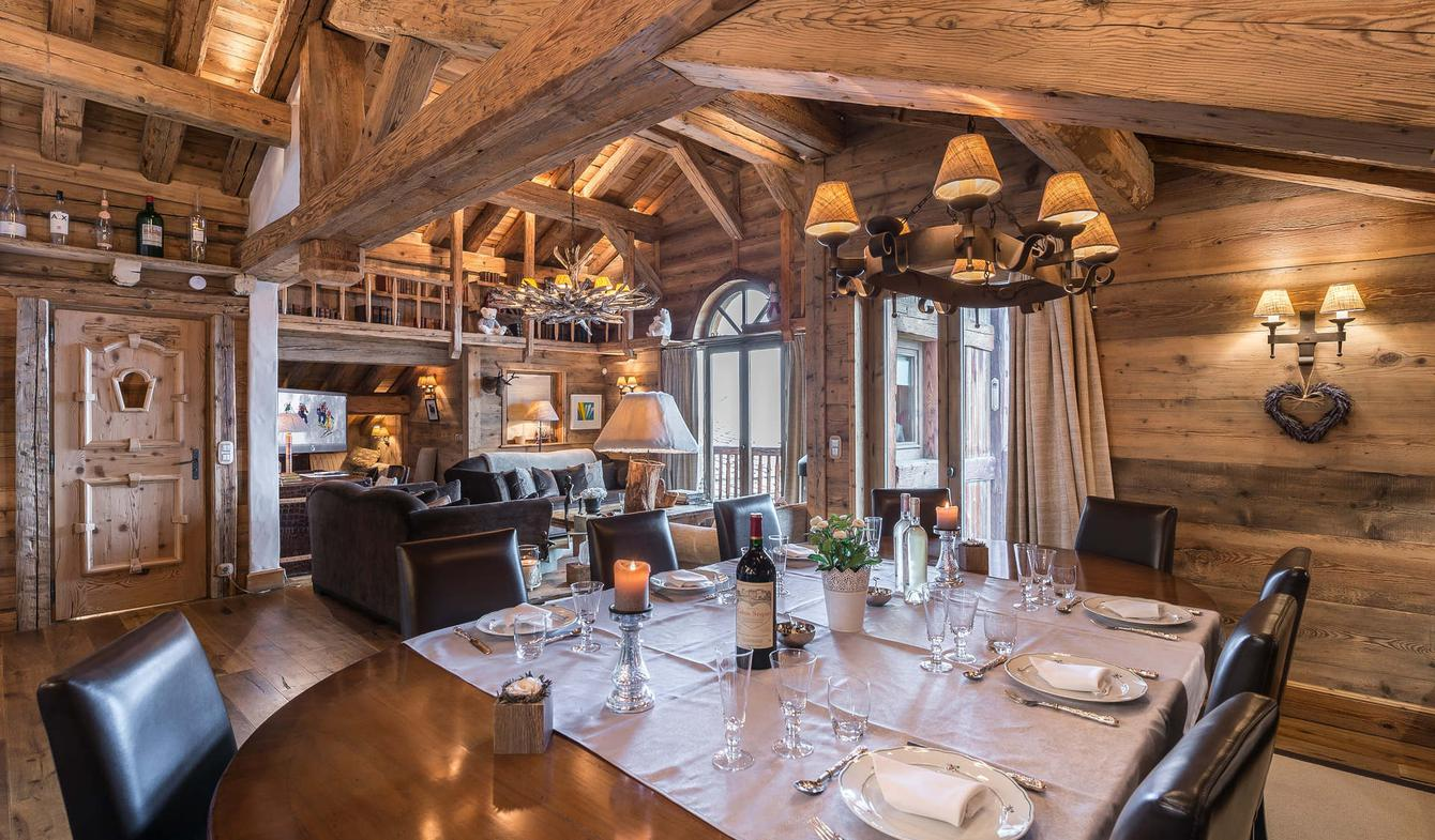 Chalet Le Lapin Blanc Meribel luxury chalet in saint-bon-tarentaise listing for rent