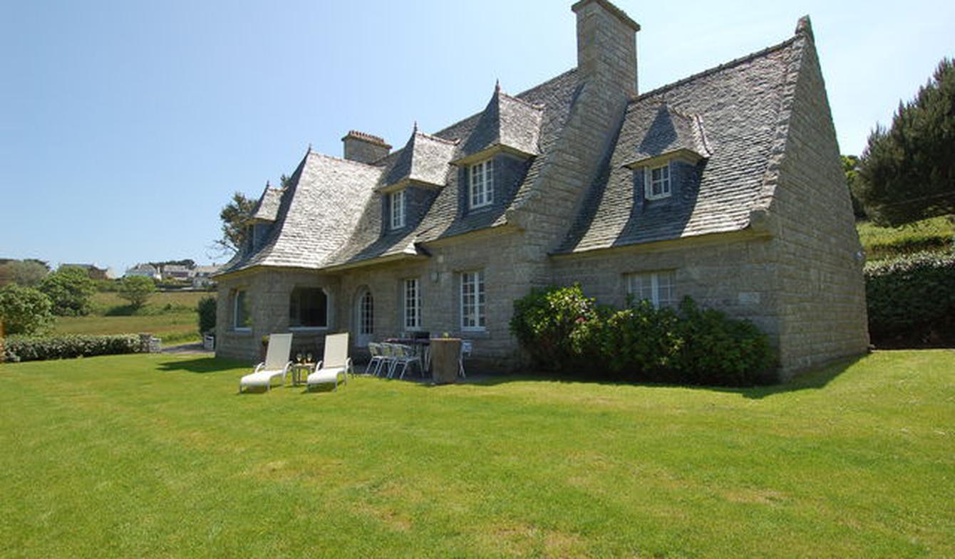 Maison en bord de mer avec jardin Plougasnou