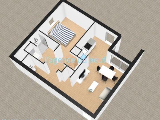 vente Appartement 2 pièces 46,96 m2 Ouistreham