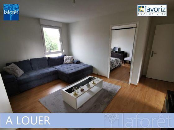 Location appartement 3 pièces 68,79 m2 à Montbeliard