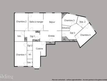 Appartement 6 pièces 170 m2