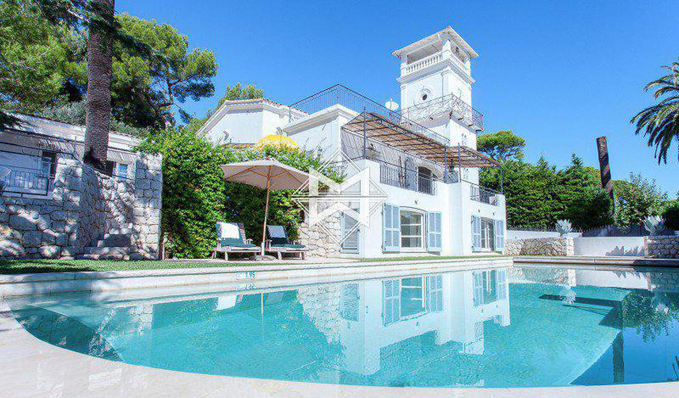 Villa with pool Cap d'Antibes
