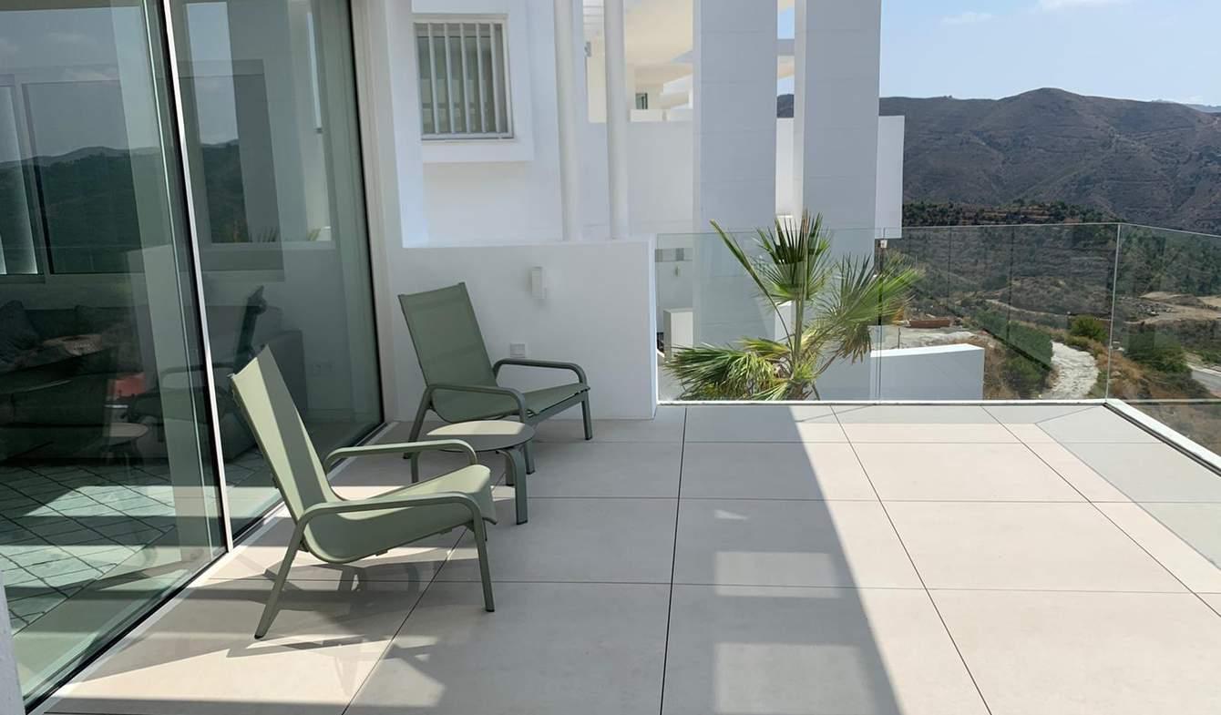 Appartement contemporain avec terrasse et piscine Malaga
