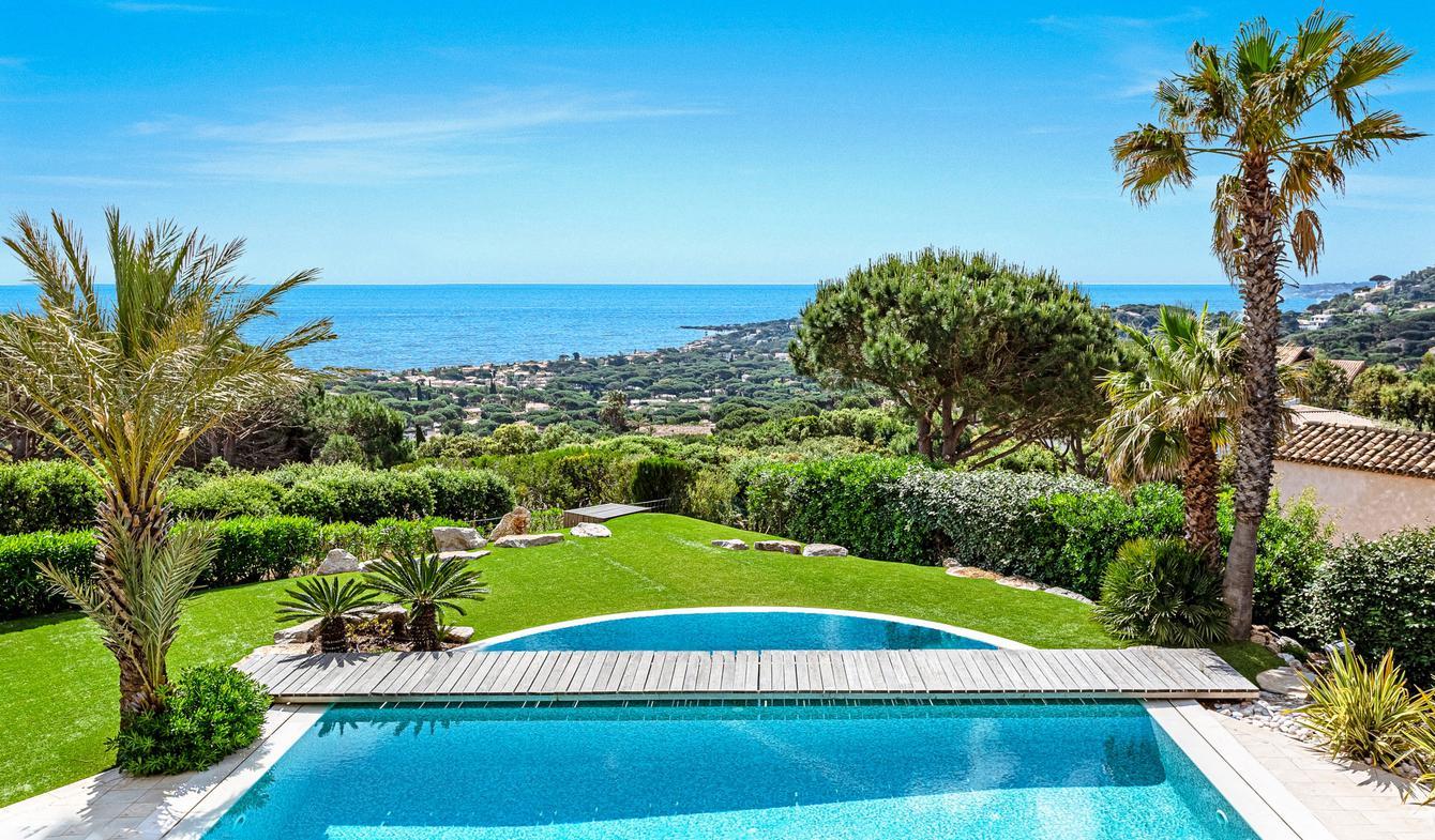 Seaside villa with pool Sainte-Maxime