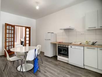Appartement meublé 3 pièces 42 m2