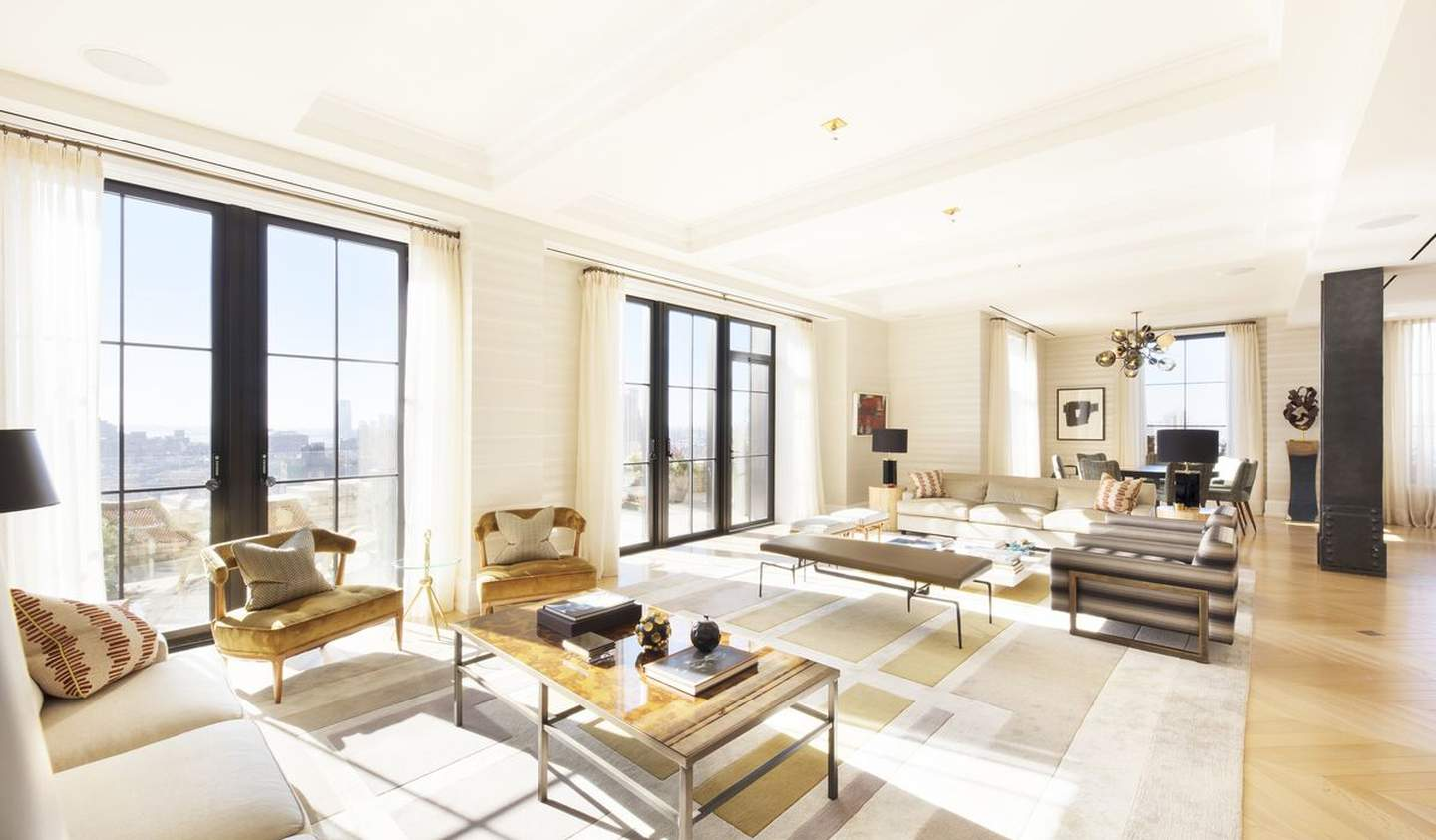 Contemporary apartment with terrace New York