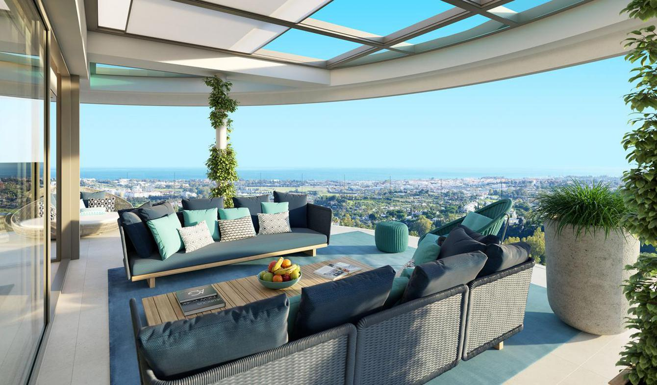 Appartement contemporain avec terrasse et piscine Benahavís