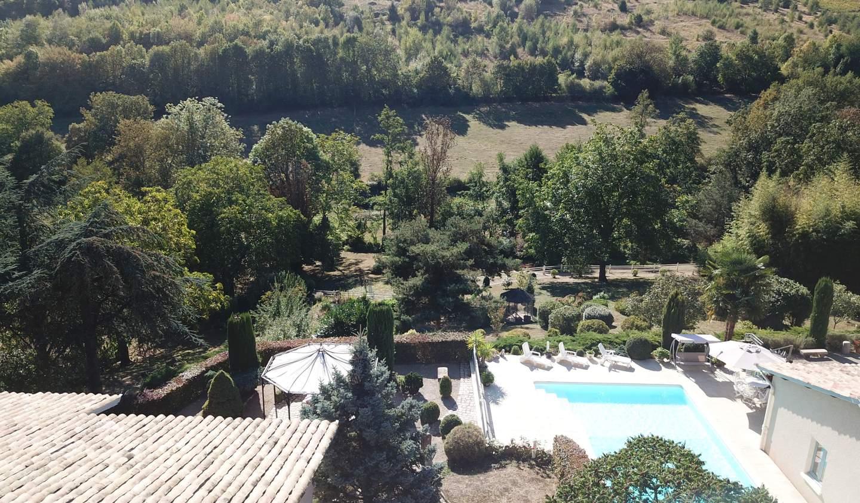 House with pool and terrace Quincié-en-Beaujolais