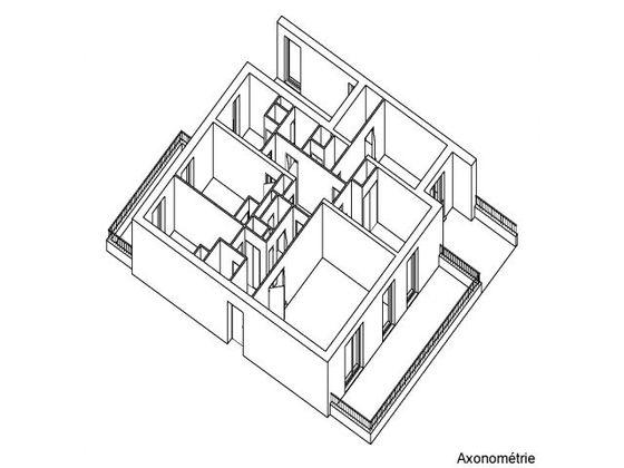 Location appartement 4 pièces 106 m2