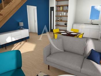 Maison 3 pièces 59,58 m2