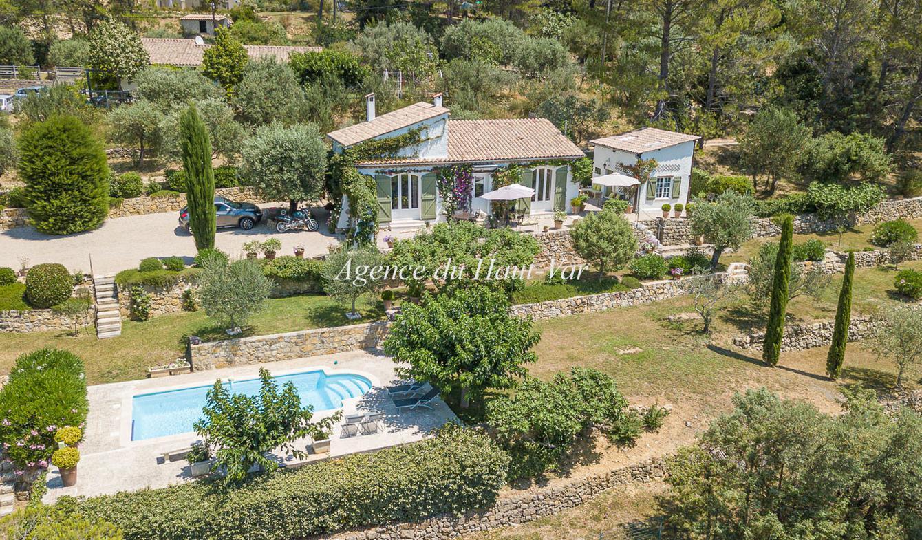 Villa avec piscine et terrasse Fayence