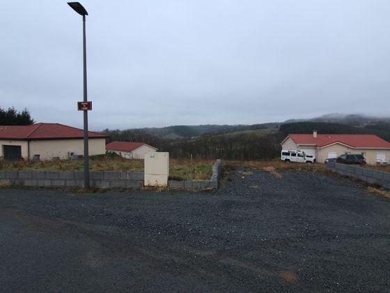 Vente terrain 873 m2