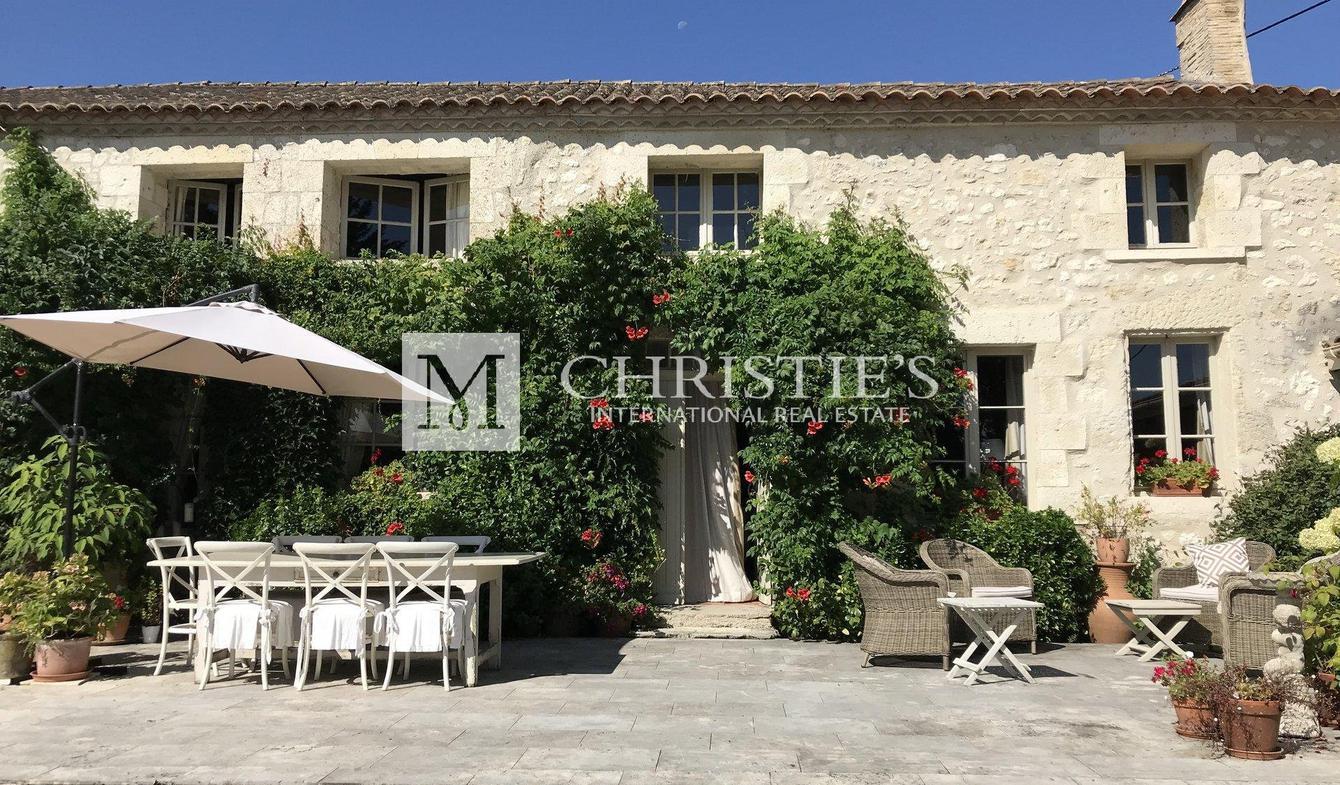 Propriété viticole avec piscine Duras