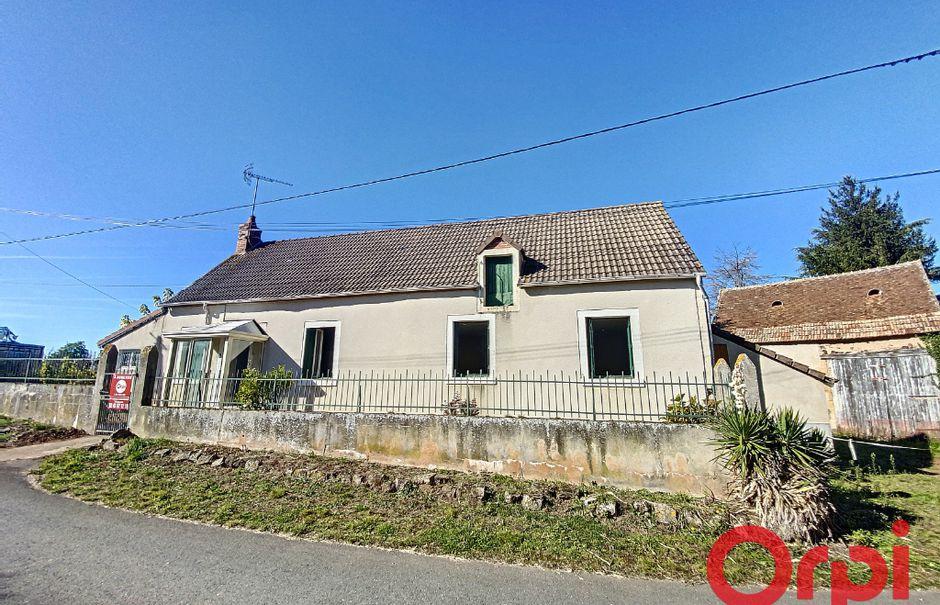Vente maison 4 pièces 89 m² à Coust (18210), 49 280 €