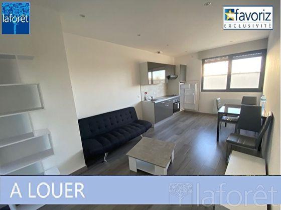 Location appartement meublé 2 pièces 43 m2 à Montbeliard