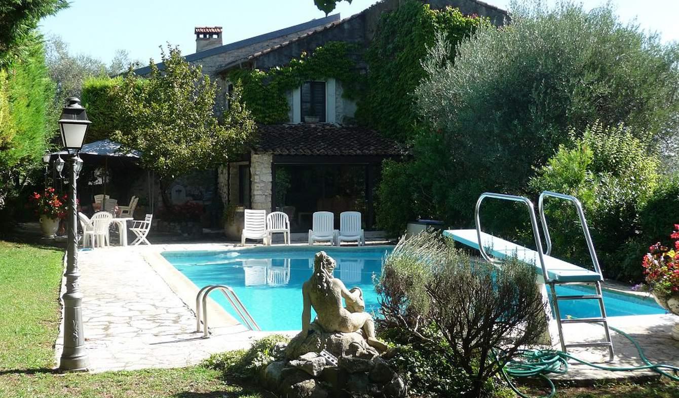 Propriété avec piscine La Colle-sur-Loup