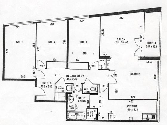 Vente appartement 5 pièces 97 m2