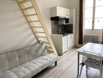 Studio meublé 12,73 m2