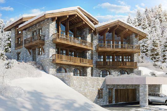 Appartement contemporain avec terrasse et piscine