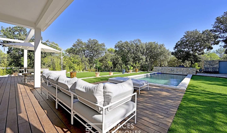 Maison avec piscine et terrasse Nages-et-Solorgues