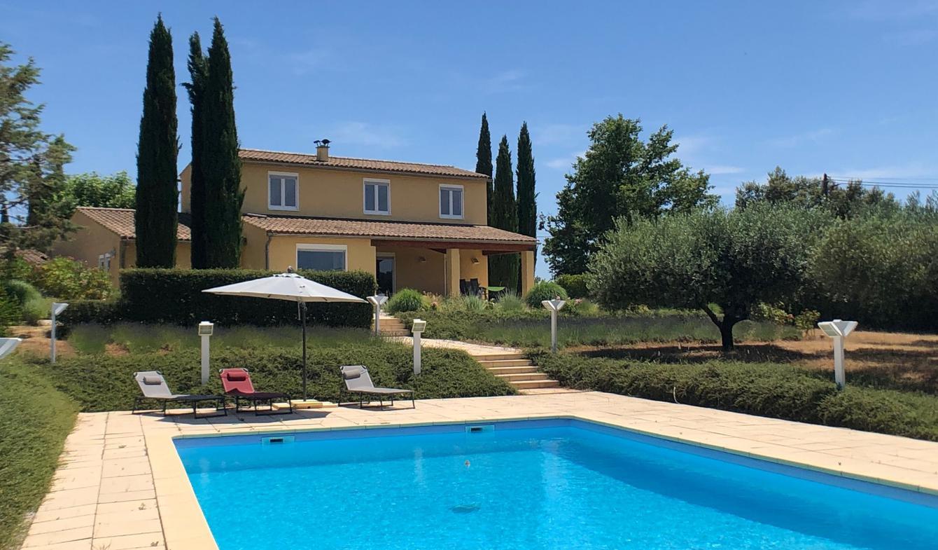 Villa avec piscine et jardin Cotignac
