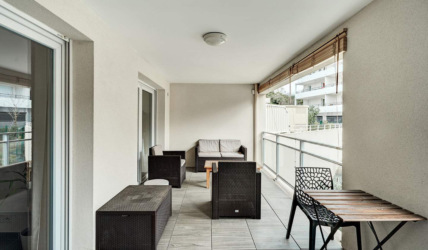 Apartment with terrace Marseille 9th