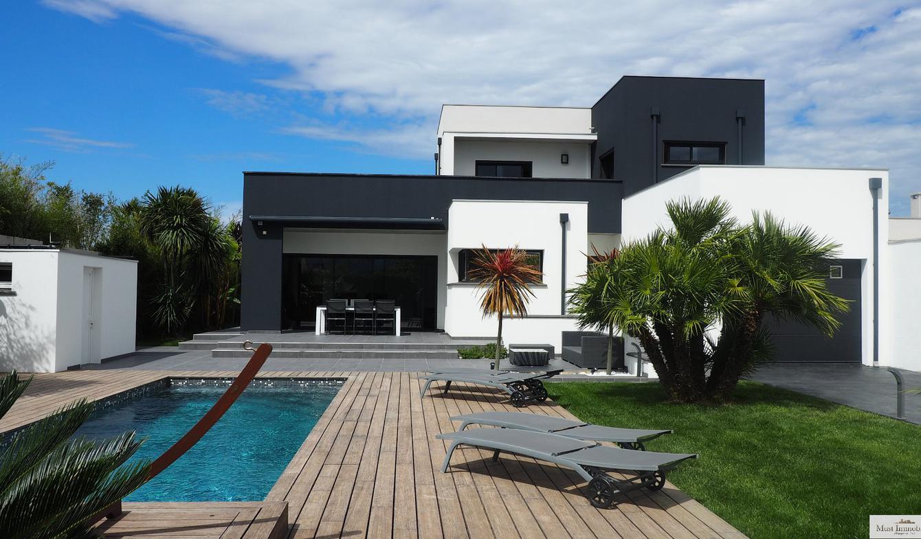 Villa avec piscine et terrasse Saint-Cyprien