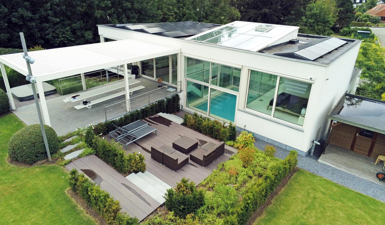 Villa avec piscine et jardin Rhode-Saint-Genèse