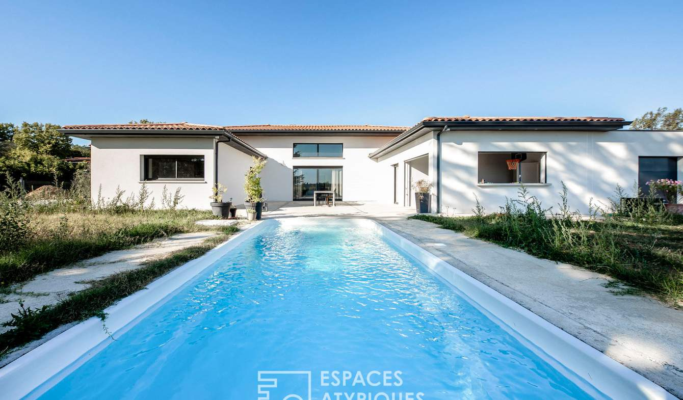 House with pool and terrace Pibrac