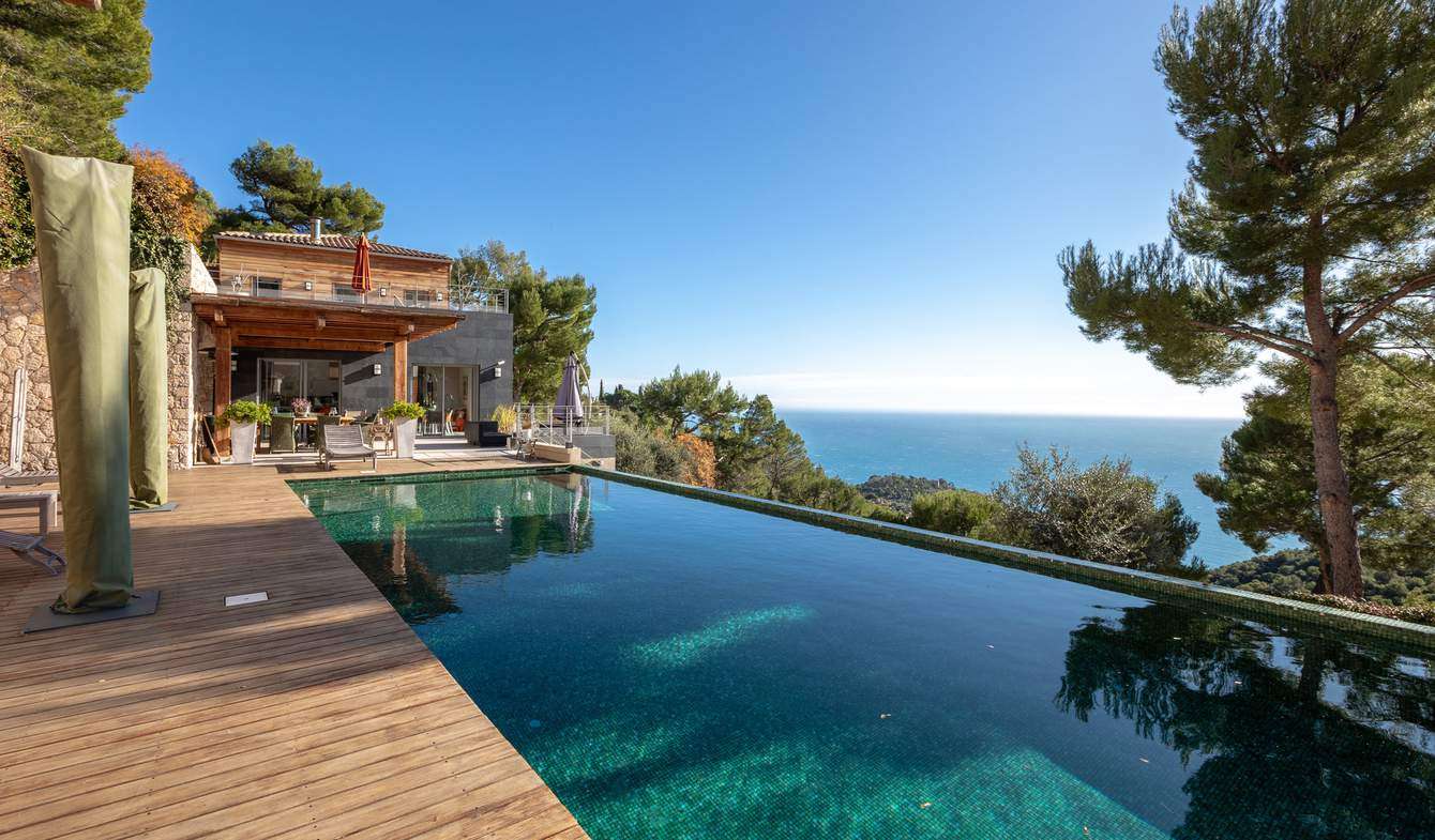 Maison avec piscine Eze