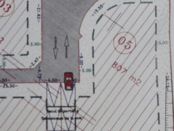 Vente terrain 807 m2