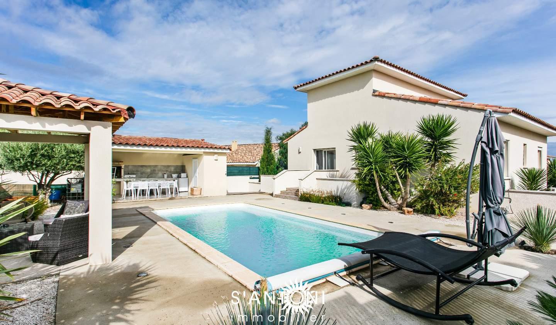 Maison avec piscine et terrasse Montblanc