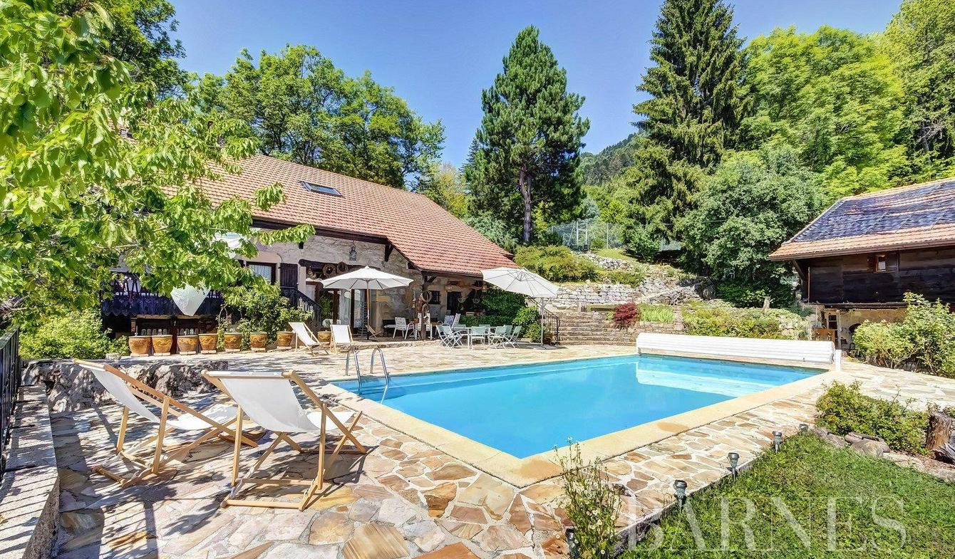 Property with pool Lucinges