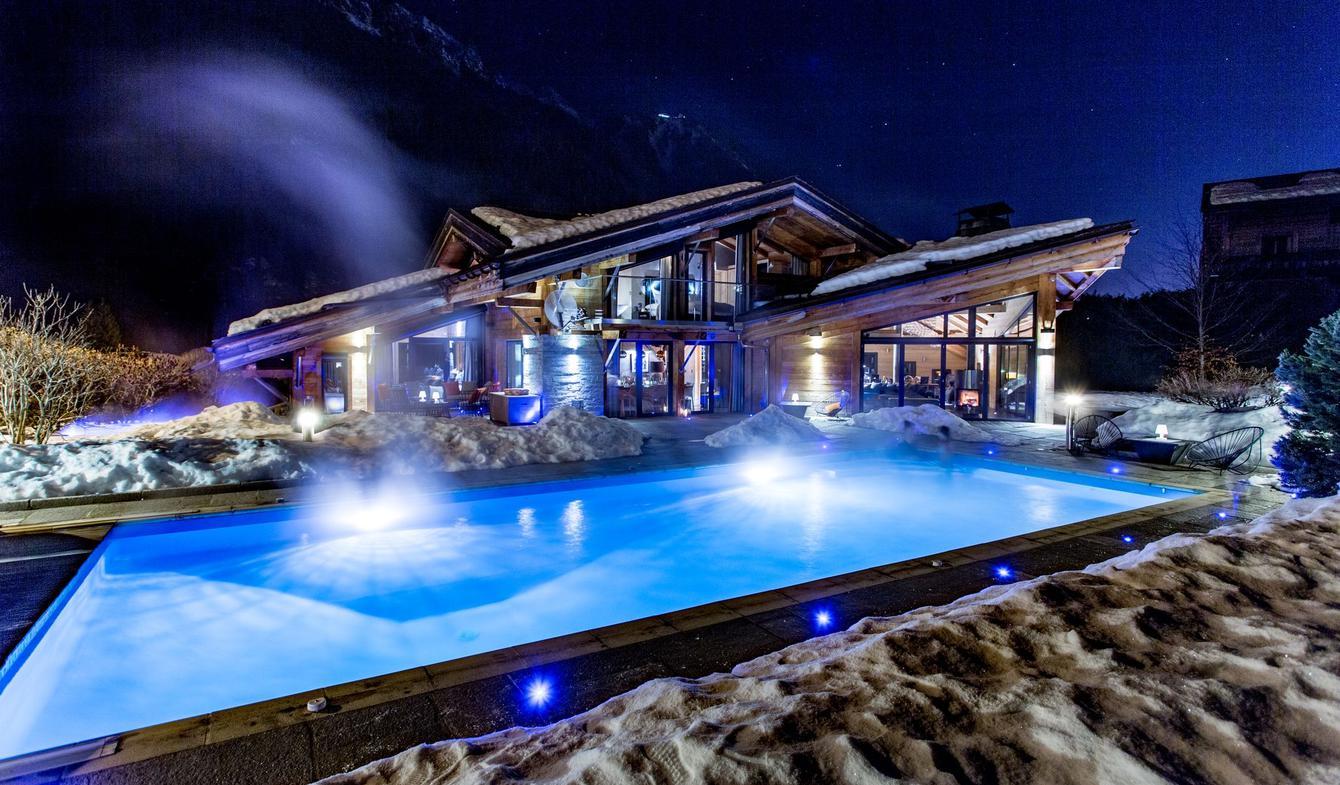 Chalet avec piscine Chamonix-Mont-Blanc