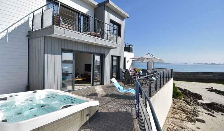 Maison en bord de mer avec jardin Sibiril