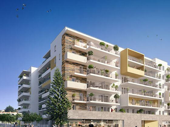 Vente appartement 3 pièces 56,63 m2