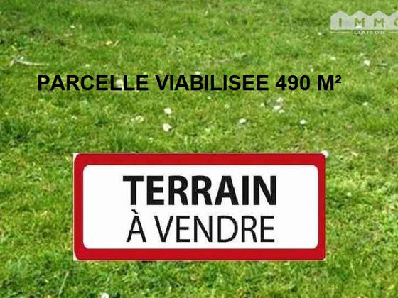 Vente terrain 490 m2